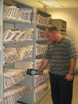 medical records shelving medical supply storage solutions