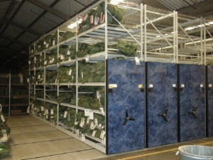 High Density Compact Mobile Shelving, Warehouse Mobile Storage Systems, War Bag Mobile Shelving, Mobility Bag High Density Shelving