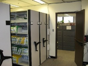 RFID Mobile Shelving