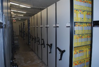 High Density Video Shelving Systems Movie Vault Storage