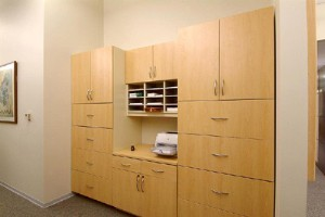 Copy Center Modular Casework