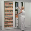 Rotary File Cabinets, Rotary File Shelving, Rotary Files, Rotary File Times Two Speed Files, Rotary File Storage Systems