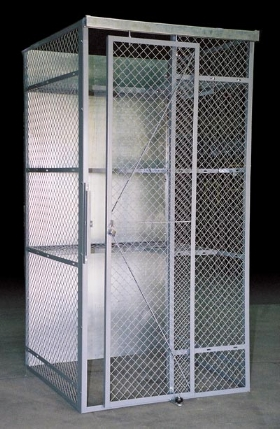 Wire Cage Military Personnel Storage Welded Wire Cage