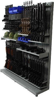SCAR Weapon Racks, SCAR Weapon Shelving Systems